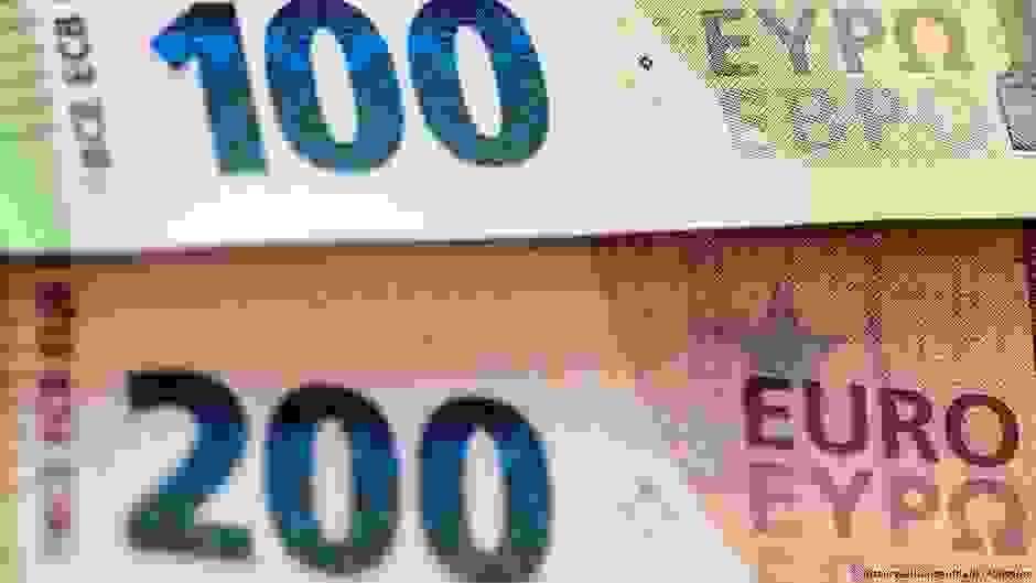Από 28 Μαΐου τα νέα χαρτονομίσματα 100 και 200 € | DW | 22.05.2019