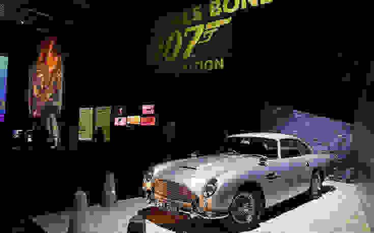 Επιστρέφει στους δρόμους το αυτοκίνητο του Τζέιμς Μποντ