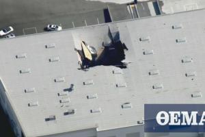 ΗΠΑ: Πολεμικό αεροσκάφος συνετρίβη σε εμπορικό κατάστημα