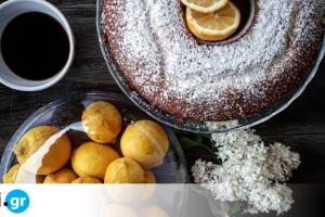 Κέικ με γεύση λεμονιού από την food blogger Marysgramm